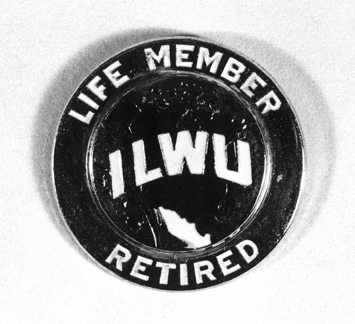 ILWU LOCAL 94 RETIRED PIN